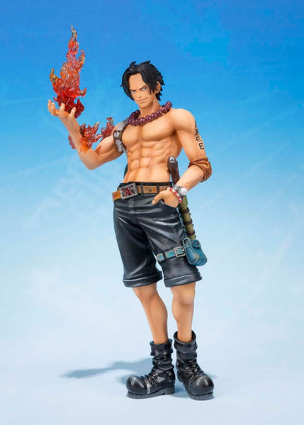 Official One Piece Figure - Figuarts Zero Portgas D Ace 5th Anniversary Edition