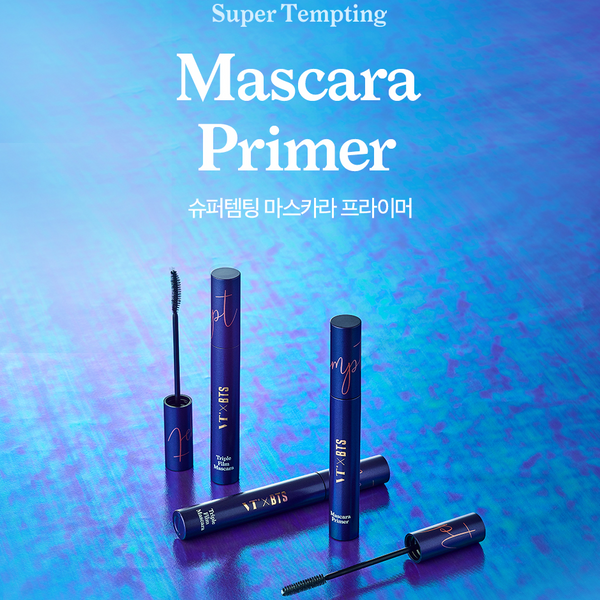 VT x BTS - Super Tempting Mascara Primer