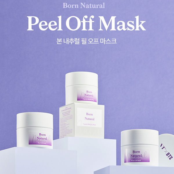 VT x BTS - Born Natural Peel Off Mask
