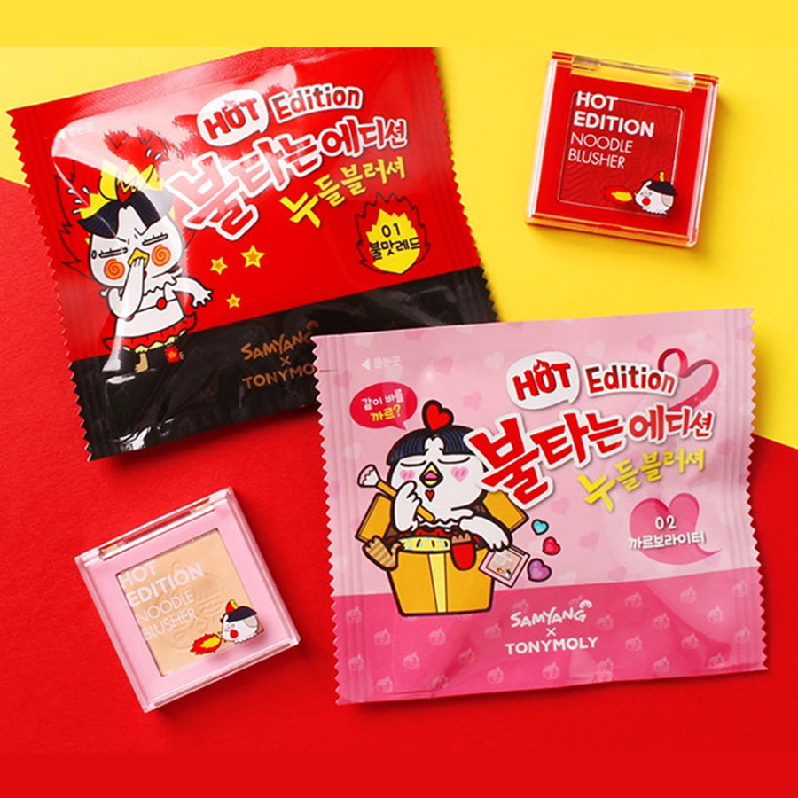 Tony Moly x Samyang - Hot Edition - Noodle Blusher