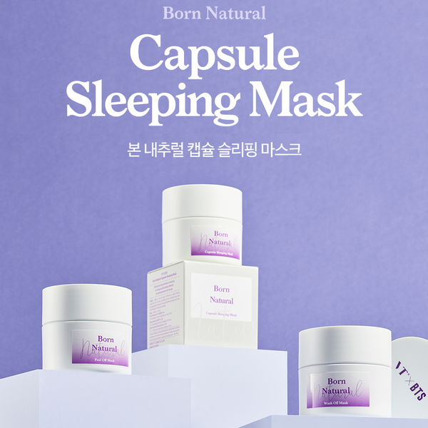 VT x BTS - Born Natural Capsule Sleeping Mask