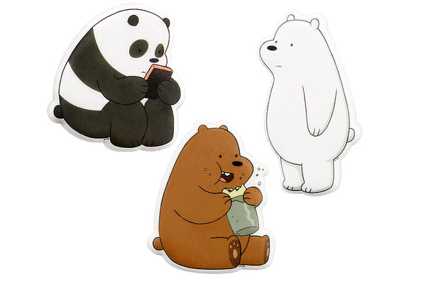 We Bare Bears -  Frizzy Sticker