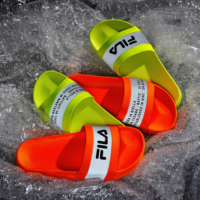 Fila Drifter High VIS - Neon Orange - Sneakers - Harumio