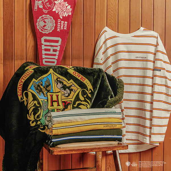 SPAO x Harry Potter - Hogwarts Long Sleeve Striped T-Shirt