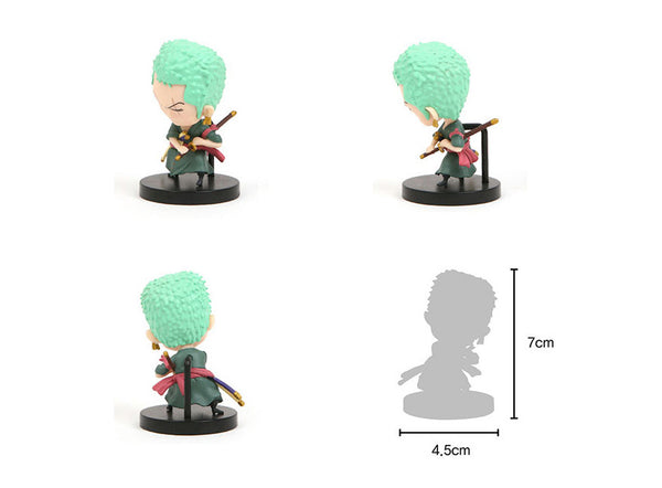One Piece Mini Action Figures - Zoro
