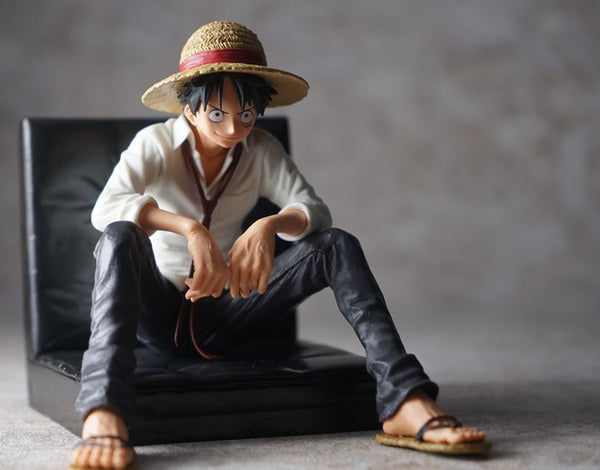 Official One Piece Figure - Creator x Creator Monkey D Luffy - Figures - Harumio