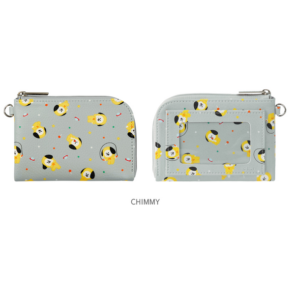BT21 x Monopoly - Pattern Card Pocket