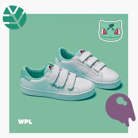 Fila X Pokemon - Court Deluxe - Bulbasaur - Sneakers - Harumio