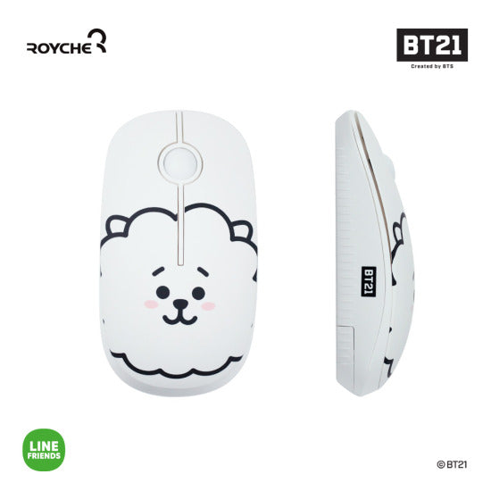 BT21 x Royche - Wireless Silent Mouse - RJ