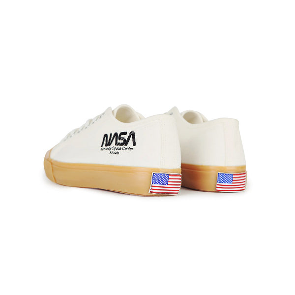 Siero x NASA - Logo Print Sneakers - White