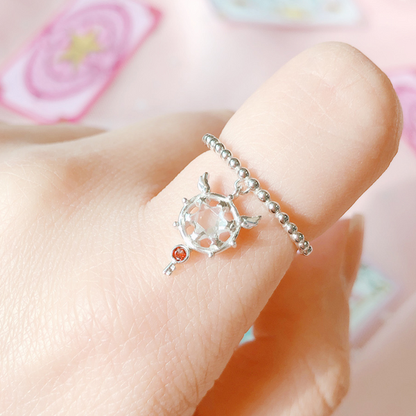 OST x Cardcaptor Sakura - Dream Wand Dangle Ring
