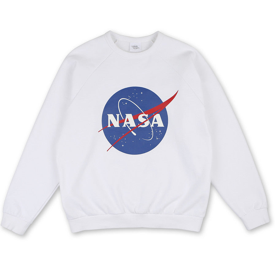 Siero x NASA - NASA Center Logo Sweatshirt - White