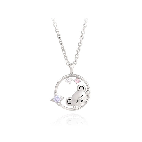 BT21 x OST - Silver Necklace Ver. 2 - Koya