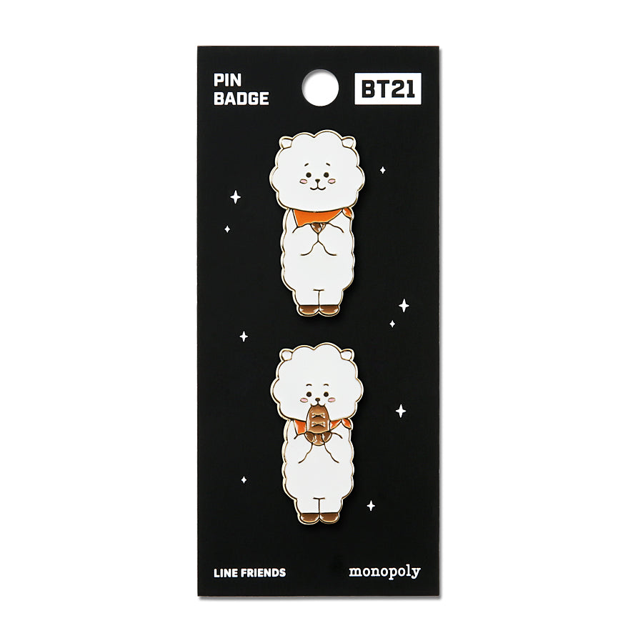 BT21 - Pin Badge 2 - RJ