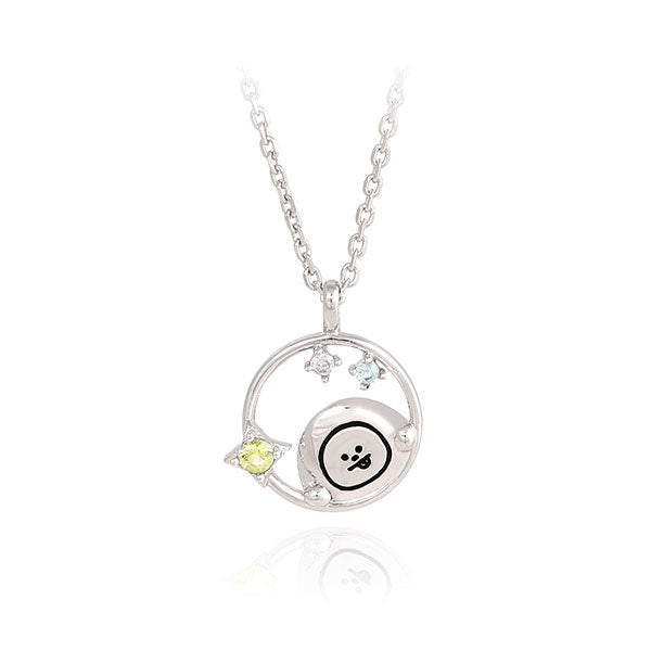 BT21 x OST - Silver Necklace Ver. 2 - Chimmy