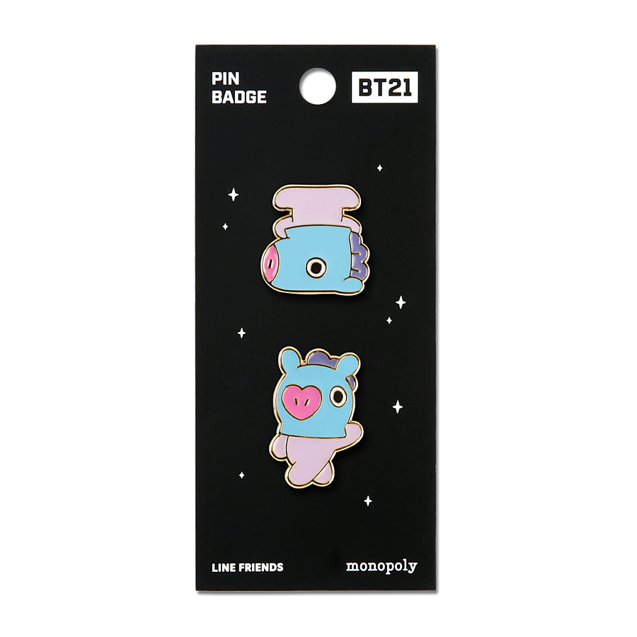 BT21 - Pin Badge 2 - Mang