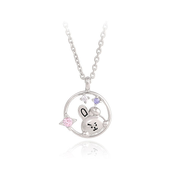 BT21 x OST - Silver Necklace Ver. 2 - Cooky