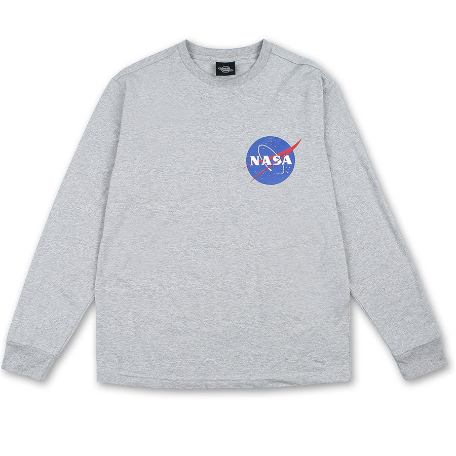 Siero x NASA - NASA Long Sleeve T-Shirt - Gray