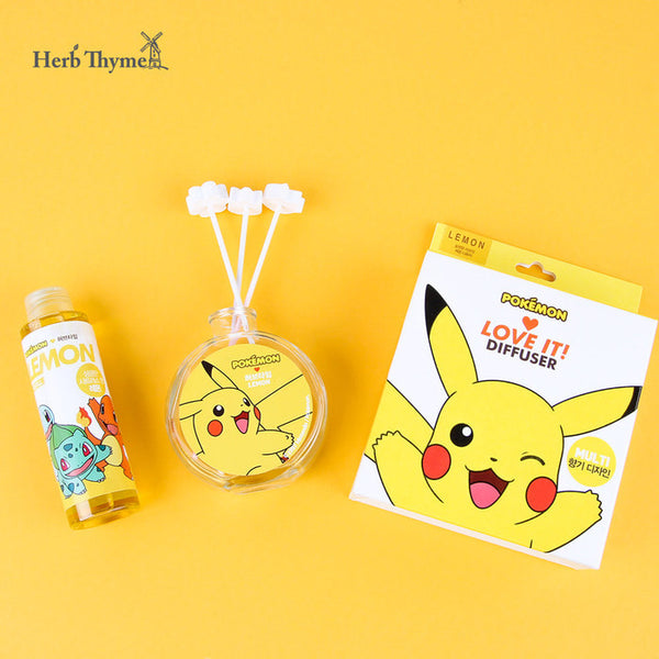 Pokemon x Herb Thyme - Pocket Monster Diffuser