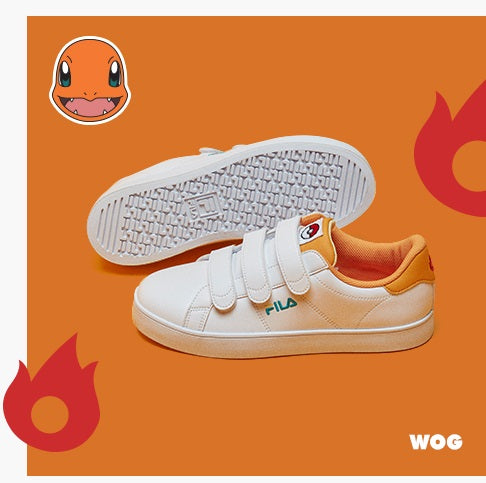 344a7eb10694 Fila X Pokemon - Court Deluxe - Charmander