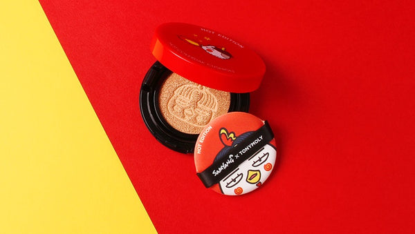 Tony Moly x Samyang - Hot Edition - Hot Puff Puff Cushion Refill Pack