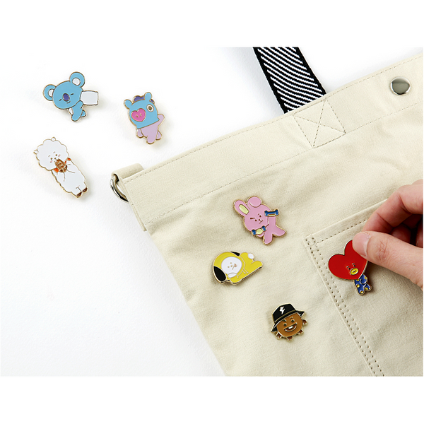 BT21 - Pin Badge 2 - Cooky