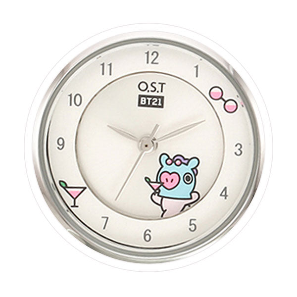 BT21 x OST - Silver Metal Watch - Mang
