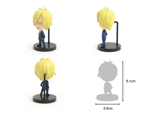 One Piece Mini Action Figures - Sanji