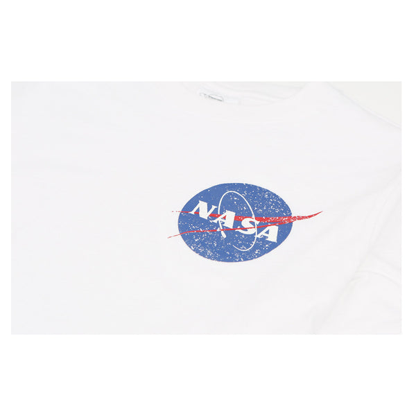 Siero x NASA - Small Circle Logo T-Shirt - White