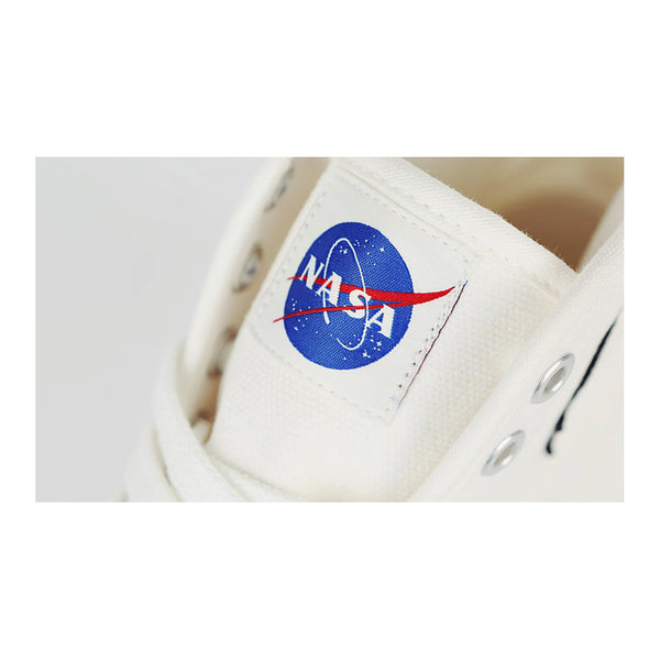 Siero x NASA - Logo Patch High Top Sneakers - White