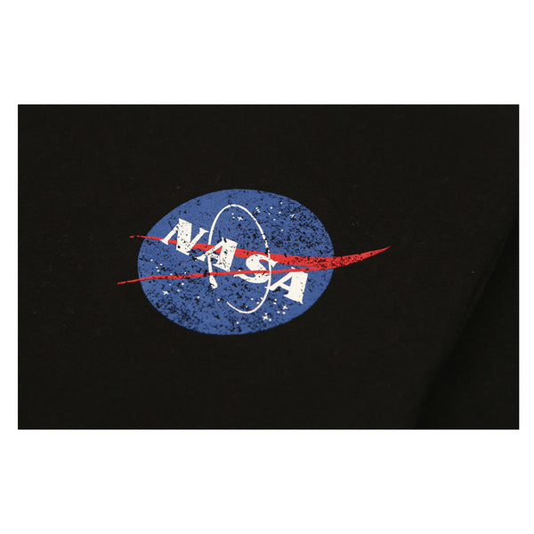 Siero x NASA - Small Circle Logo T-Shirt - Black