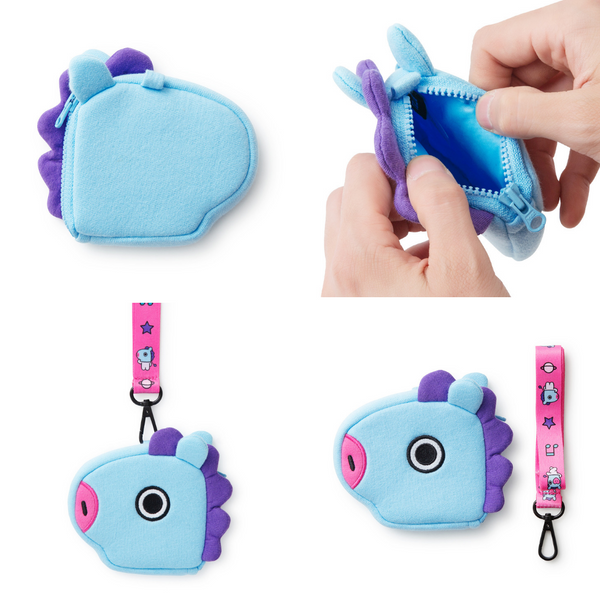 BT21 - Pattern Strap Coin Purse