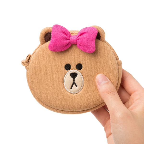 Line Friends - Choco Mini Coin Purse - Bag - Harumio