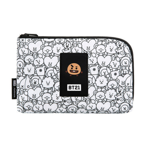 BT21 Cable Pouch - SHOOKY - Accessories, Bag - Harumio