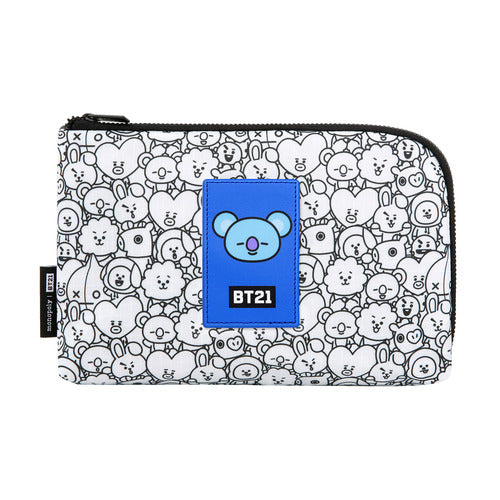 BT21 Cable Pouch - KOYA - Accessories, Bag - Harumio
