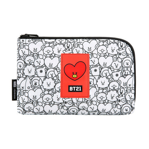 BT21 Cable Pouch - TATA - Accessories, Bag - Harumio