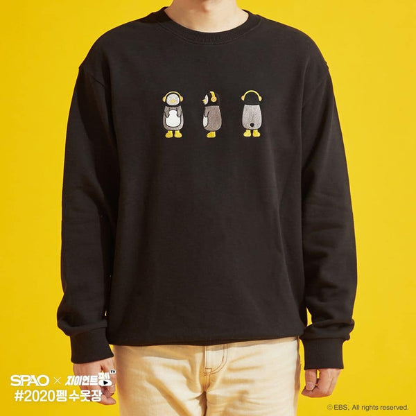 SPAO x Pengsoo - Graphic Sweatshirt