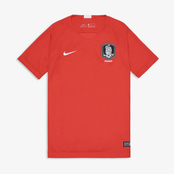 Nike - Official 2018 South Korea World Cup Jersey - Short Sleeves - Home - Junior - Top - Harumio