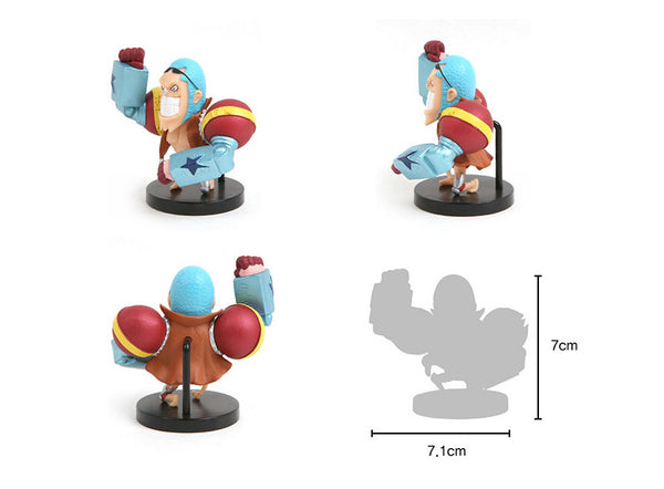 One Piece Mini Action Figures - Franky
