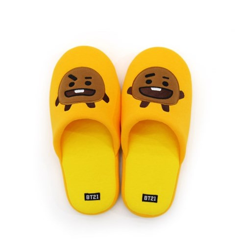 BT21 x Nara Home Deco - Room Slippers - Shooky