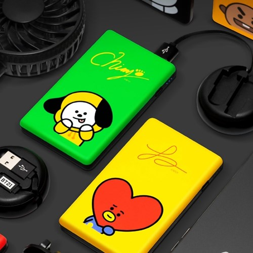 BT21 Power Bank - Stationary, Accessories - Harumio