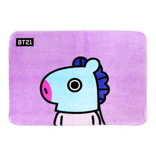 BT21 x Nara Home Deco - Flannel Blanket - Mang