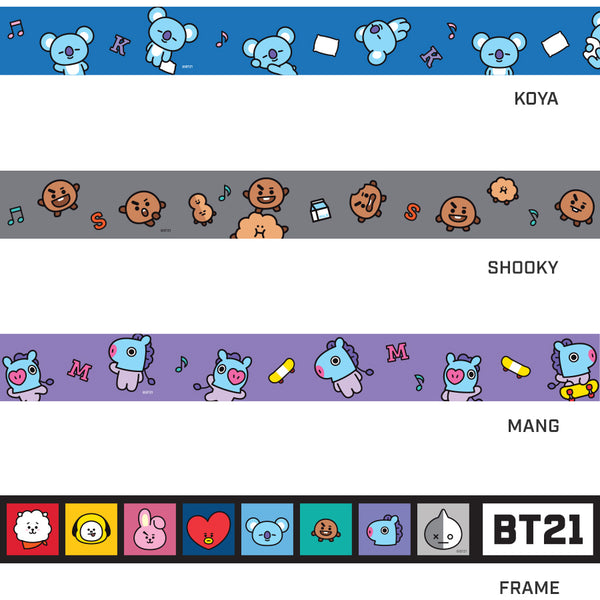 BT21 x Monopoly - Luggage Belt