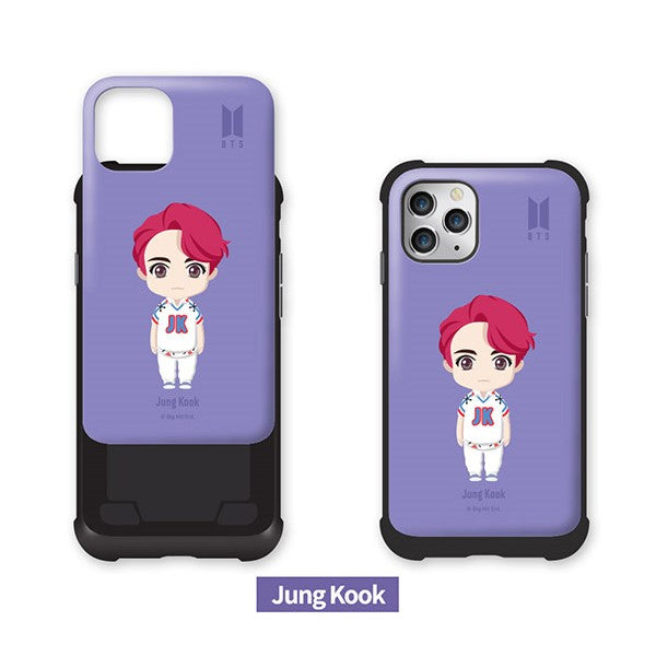 BTS - Basic Standing Volume Bumper Slide Phone Case - Samsung