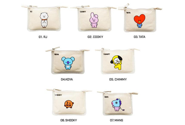 BT21 x Kumhong Fancy - Mini PVC Pouch