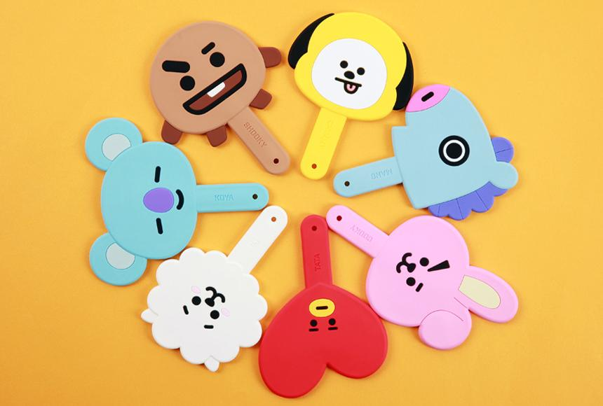 BT21 x Kumhong Fancy - Silicone Handheld Mirror