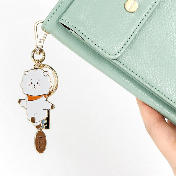 BT21 - Chimmy Metal Keyring
