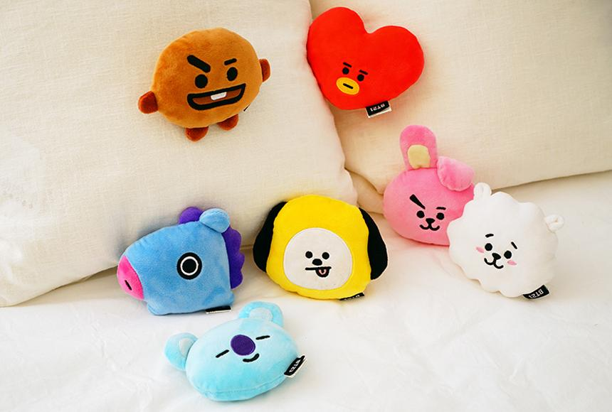 BT21 x Kumhong Fancy - Wrist Cushion
