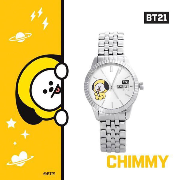 BT21 x OST - Chimmy Bezel Point Metal Watch