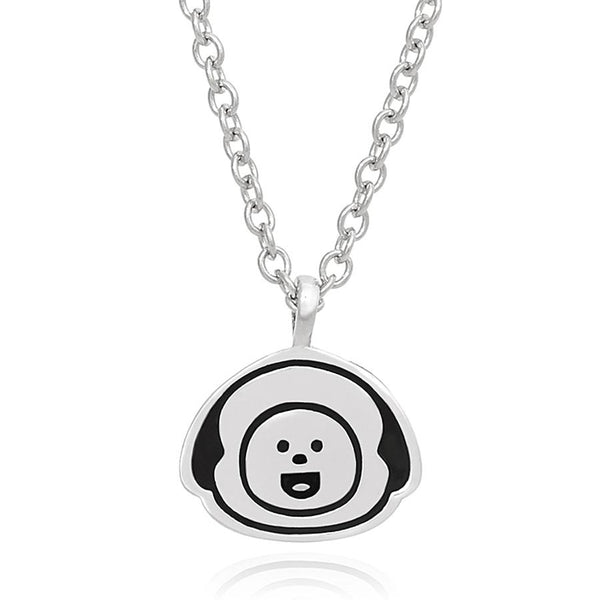BT21 x OST - Chimmy Silver Necklace